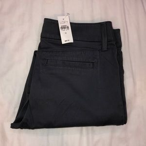 LOFT Ankle Chinos